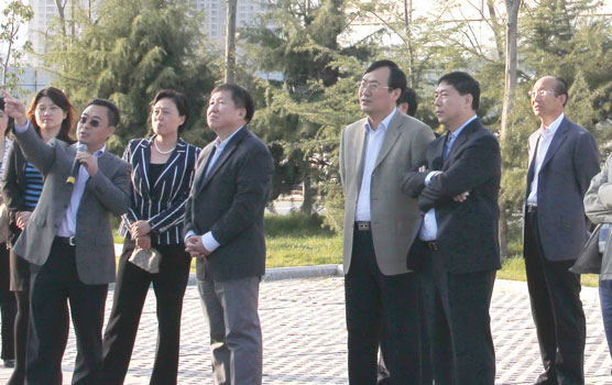 Cao Jianlin, Vice Minister of Ministry of Science and Technology, visits the Park