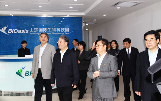 Chairman Sang visits the Biotechnology Park