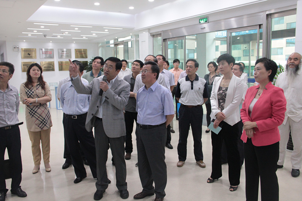 Hao Dejun, Chairman of Yantai Political Consultative Conference, Visited BIOasis
