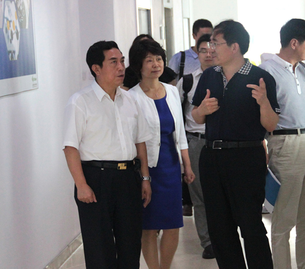 Li Yunlong, President of National Institute for Food and Drug Control Visited BIOasis